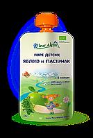Детское фруктово-овощное пюре Fleur Alpine ЯБЛОКО и ПАСТЕРНАК 120г