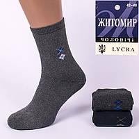 Мужские махровые носки Житомир 103. В упаковке 12 пар.