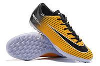 Футбольные сороконожки Nike Mercurial Victory VI TF Laser Orange/Black/White/Volt, фото 1