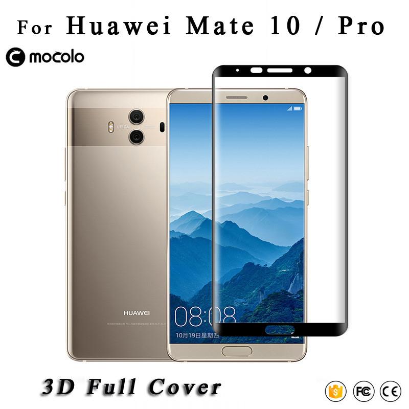Защитное стекло Mocolo 3D 9H на весь экран для Huawei Mate 10 Pro черный