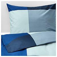 Комплект постельного белья BRUNKRISSLA синий