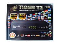 Т2 ресивер тюнер TIGER DVB-C + Internet+ кинотеатр MEGAGO +AC3 звук