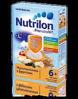 Каша молочная Nutrilon мультизлаковая с фруктами 225г.