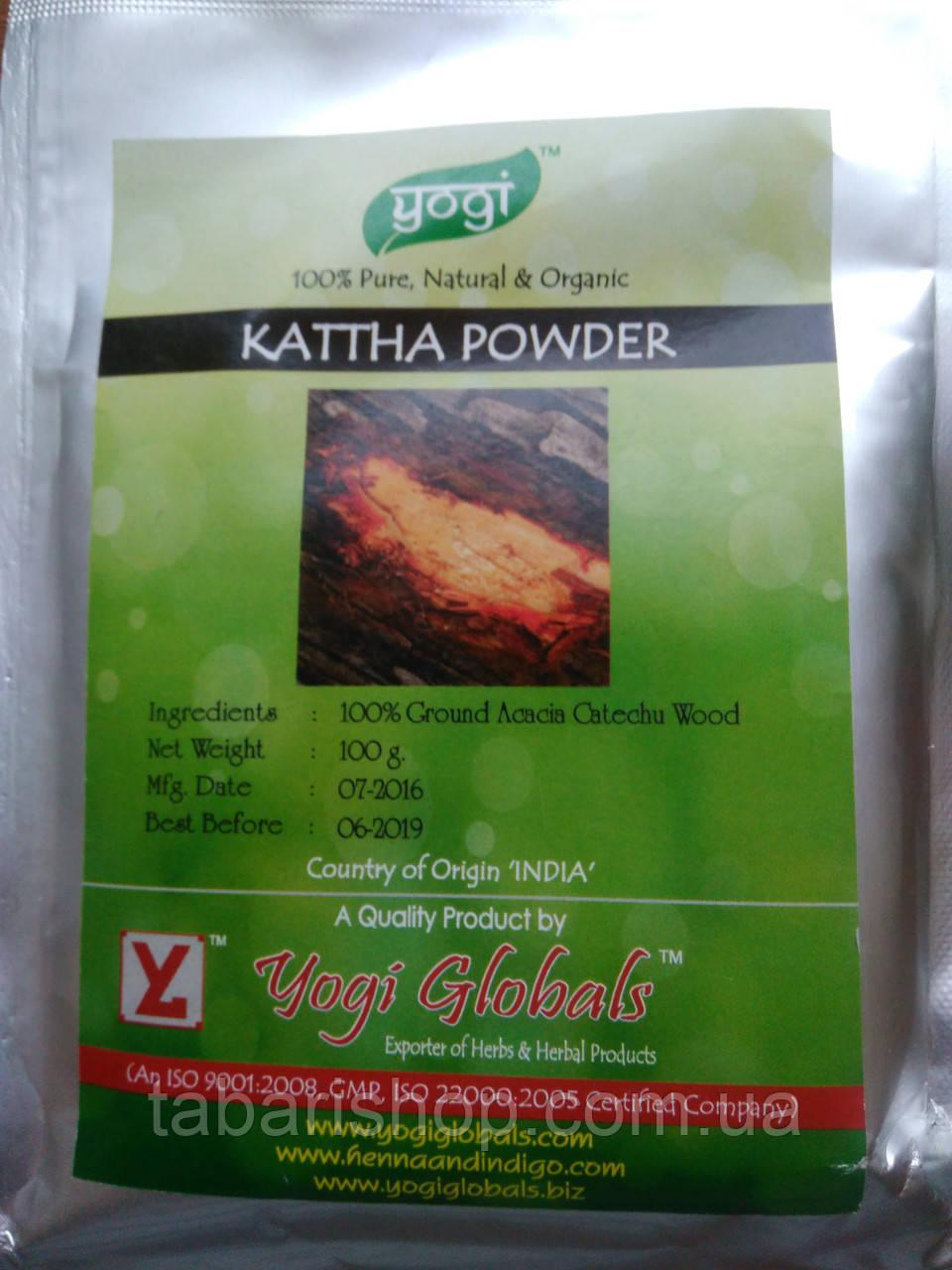 Катха порошок, Акация катеху, Kattha Powder, 100 гр