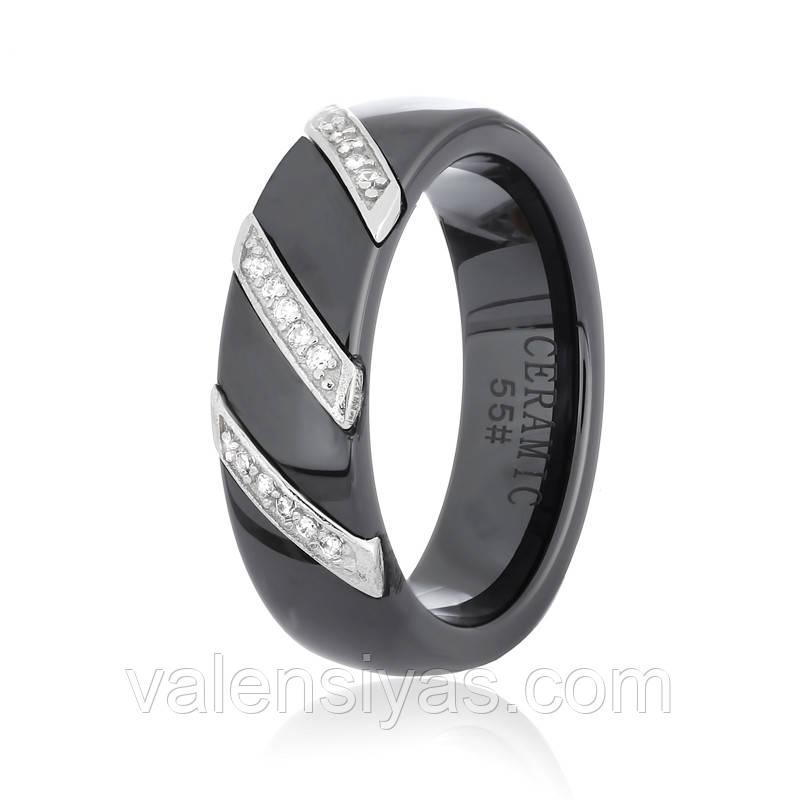 Серебряное кольцо-комплект КК2ФК/1008