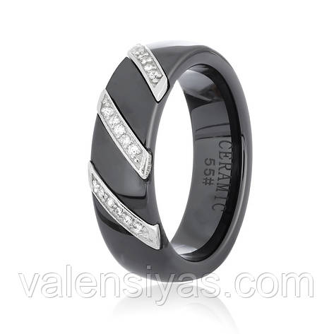 Серебряное кольцо-комплект КК2ФК/1008, фото 2