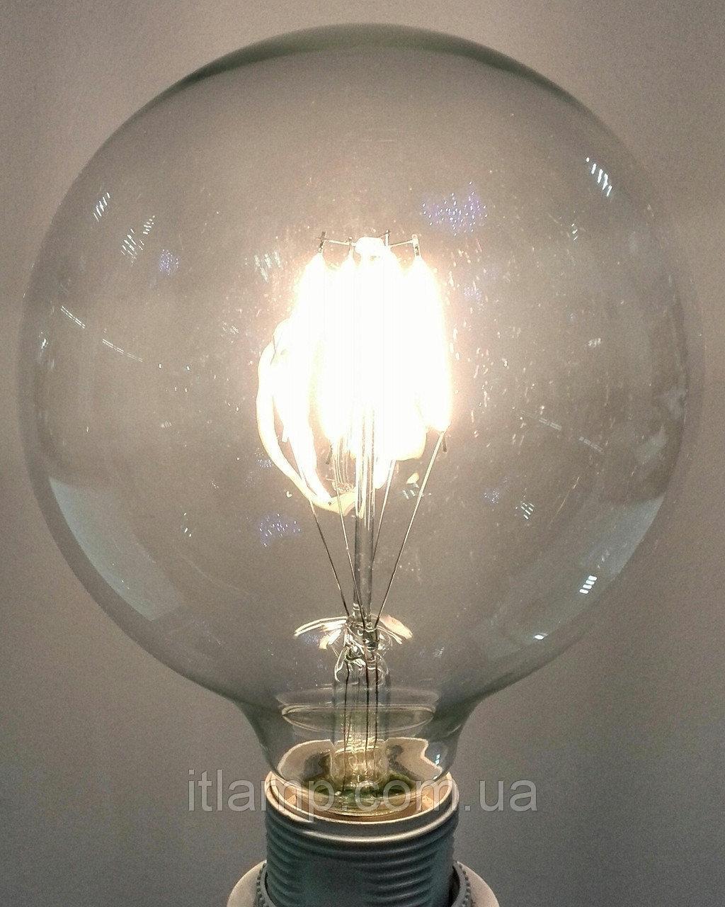 Лампочка ретро (лофт) Эдисона LED Levistella G95