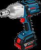Аккумуляторный ударный гайковерт Bosch GDS 18 V-LI HT Professional (5 А/ч, M12-M20)