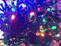 Гирлянда 200 L LED, разноцветные  лампы