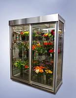 Витрина, цветочный холодильник: расчет, поставка и монтаж