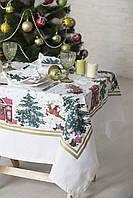 Скатерть новогодняя сказка 140*140 см ТМ Прованс