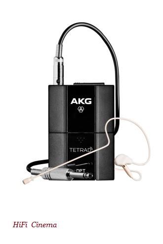AKG DPTTetrad - Цифровой поясной передатчик с головным микрофоном C111LP