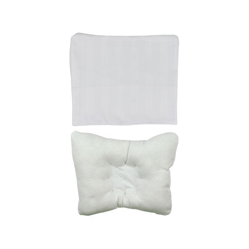 Детская бамбуковая подушка бабочка для новорожденных + наволочка