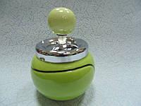 Пепельница бездымная Теннисный мяч размер 14*9.5*9.5 см
