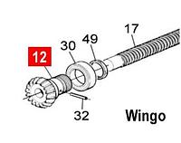 Шестерня конічна черв'ячного вала WINGO/TOONA (PD0262A0001)