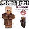 """Игрушка Деревенский житель из Minecraft - """"Villager"""" - 32 х 17 см."""