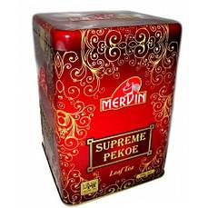 """Чёрный среднелистовой чай """"Pekoe"""", Mervin, 500 г"""