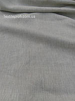 Льняная неокрашенная ткань с меланжевым эффектом
