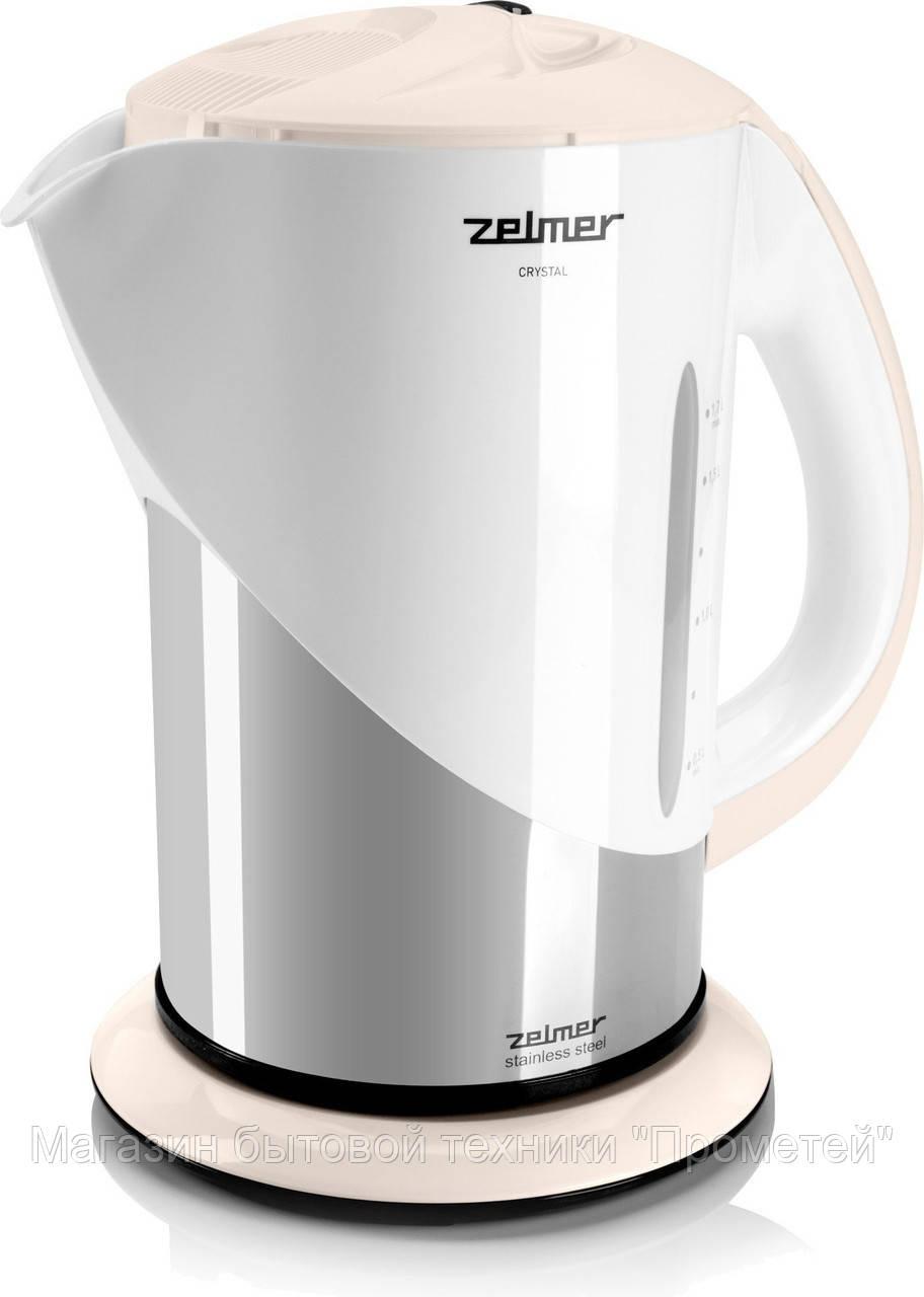 Электрочайник Zelmer 332.2 Ivory