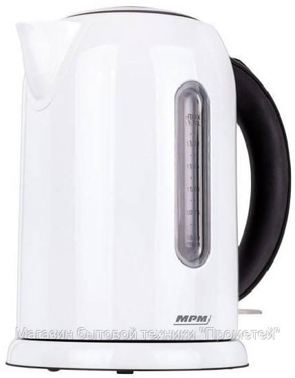 Электрочайник MPM MCZ-49 White