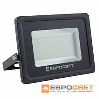 Светодиодный уличный Прожектор ЕВРОСВЕТ 50Вт 6400К EV-50-504 PRO 4500Лм