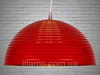 Люстра - подвес красного цвета Dh7822-1R300mm