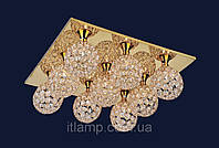 Люстра светильник хрусталь ART721LSTX88140_9 золото