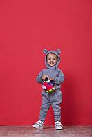 Костюм детский утепленный с капюшоном и с ушками