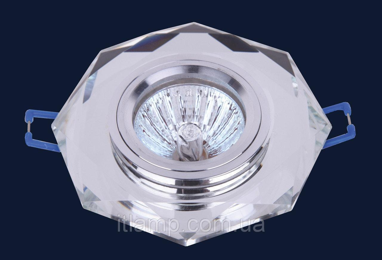 Врезной светильник со стеклом Art705046 lst