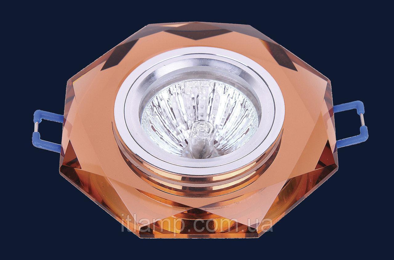 Врезной светильник со стеклом Art705049 lst