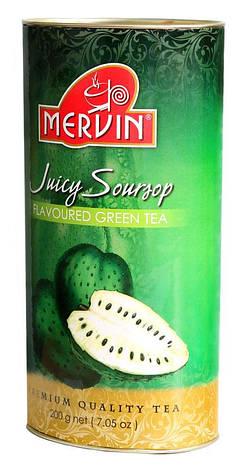 """Зелений чай """"Джусі Саусеп"""", Mervin, 200 г, фото 2"""