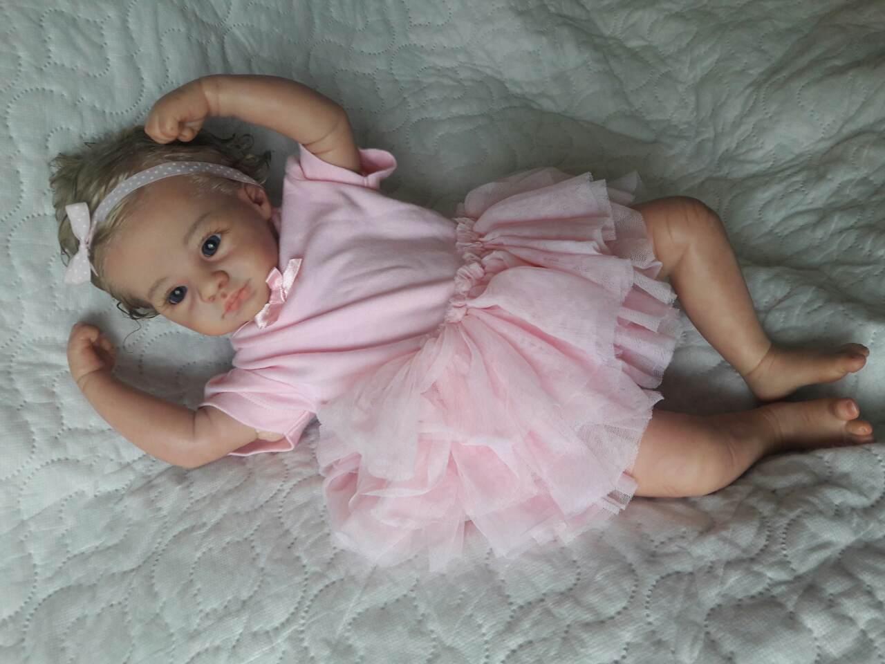 Кукла реборн Эмилия.Reborn doll.Кукла ручная работа.