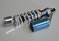 Амортизатор 270mm В08 - газовый Race (бело-голубой)