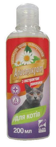 Шампунь  Аристократ п/б 200 мл. д/кошек с экст.ромашки
