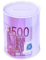 Железная копилка банка 500 евро