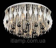 Люстра потолочная с led подсветкой ART21-6102-9BSTхром