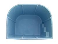 "Ёмкость с крышкой (резервуар) для активных веществ ""БРИЗ"" (2,6 х 2,1 х1,5м) 7,5 м.куб"