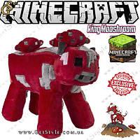 """Іграшка Грибна корова Minecraft - """"King Mooshroom"""" - 24 х 22 см, фото 1"""