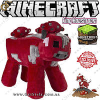 "Игрушка Грибная корова из Minecraft - ""King Mooshroom"" - 24 х 22 см, фото 1"