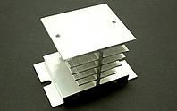 Алюминий радиатор для однофазного твердотельного реле