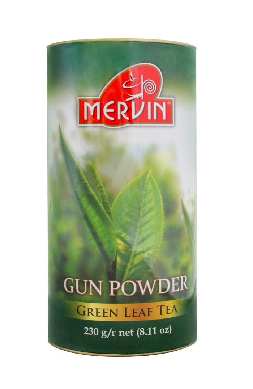 """Зеленый крупнолистовой чай """"Премиум"""", Mervin, 230г"""
