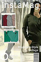 ХИТ сезона осень-зима 2017-2018 женский вязаный свитер из натуральной шерсти!