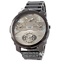 Мужские наручные часы Diesel DZ7361 Steel Black-Silver, кварцевые, элитные часы Дизель Стил Брейв