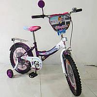 Детский двухколесный велосипед TILLY Стюардеса,колеса 18 дюймов