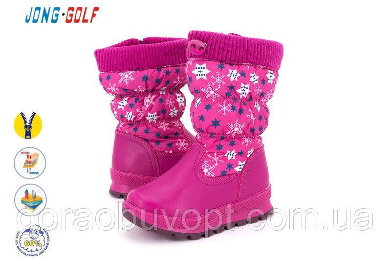 Ботинки зима 28р-17.2 см JG на овчине