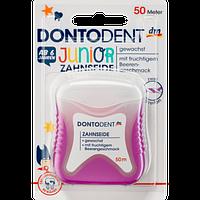 Нить зубная детская Dontodent Junior, 50 м