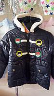 Демисезонная куртка для мальчика на флиовой подкладке 1-3 года