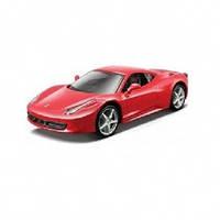 Автомодель - FERRARI 458 ITALIA (ассорти черный, красный, 1:32), 3+