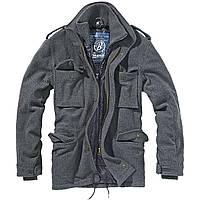 Куртка Brandit M65 Voyager Wool Jacket Anthracite