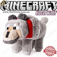 "Игрушка Пещерный Волк из Minecraft - ""Cave Wolf "" - 39 х 19 см."